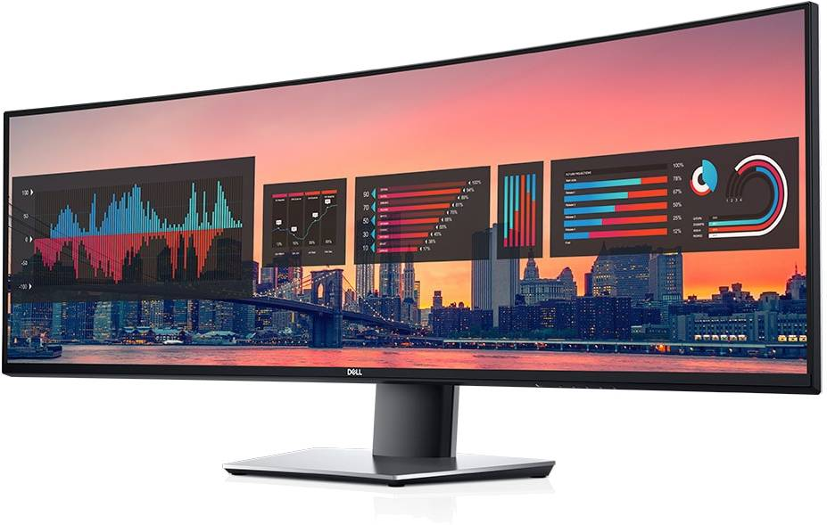 Dell DELL-U4919DW - Ultrasharp 49 Curved Monitor U4919dw - click for details.
